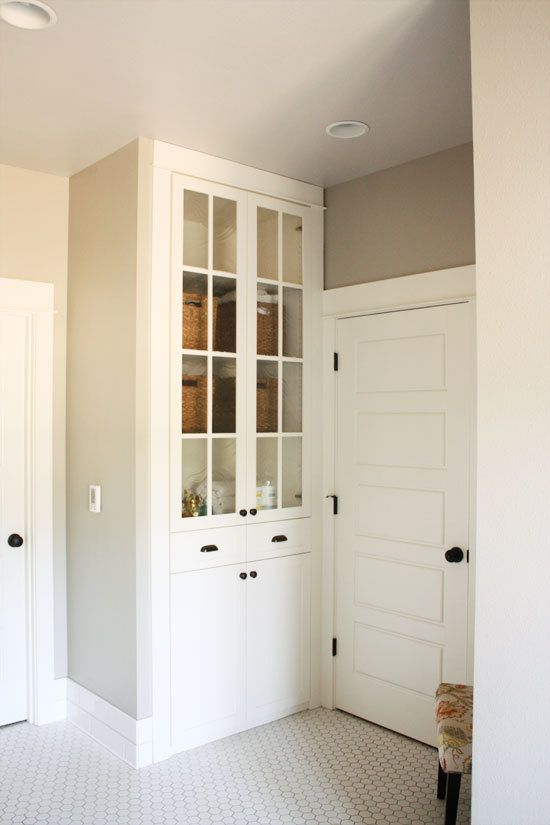 Remodel Bathroom Linen Closet 171 best home: hall bath cabinetry images on pinterest | bathroom