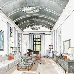 51 Best Interior Design Drawings Images On Pinterest