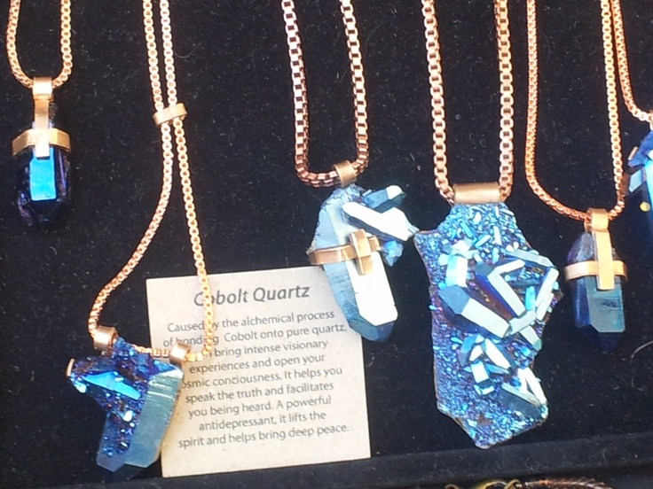Have to have this! Cobalt Blue is a powerful colour and stone! These are at Bondi and Paddington markets in Sydney.