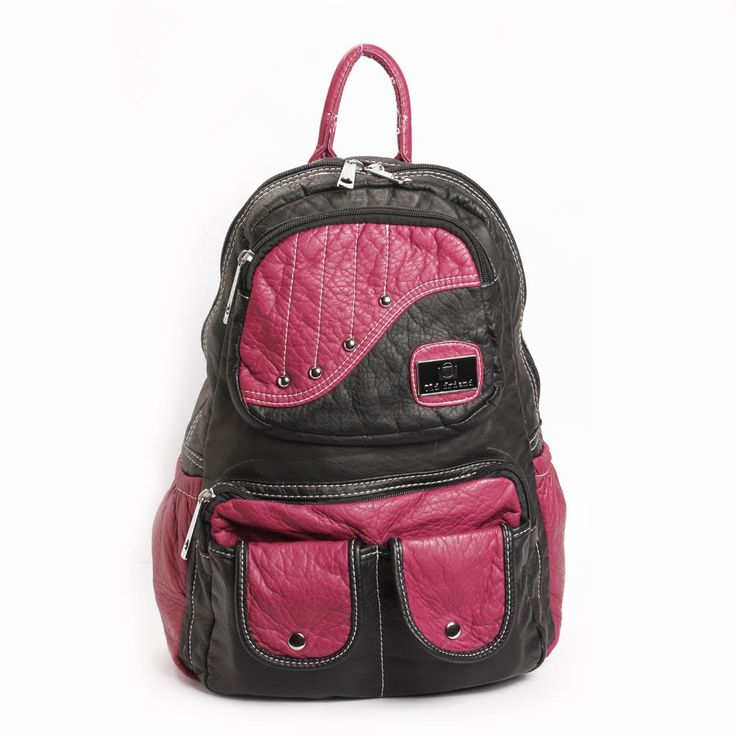 Check out this stylish backpack that is not just a fashionable accessory, but also a functional necessity for youngsters. Ergonomically designed, this backpack features multiple zips, durability and extra roomy space. This is all you need to carry your stuff conveniently.  Visit for buy this Backpacks:- http://khoobsurati.com/khoobsurati/stylish-backpack-khoobsurati