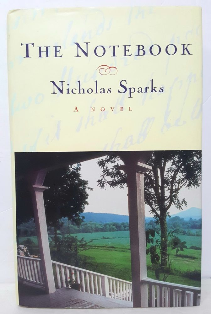 The Notebook By Nicholas Sparks First Edition Books Video Games