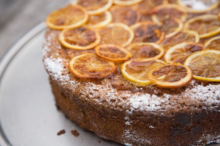 Candied lemon & olive oil Cake THE BOX - Ripe Recipes
