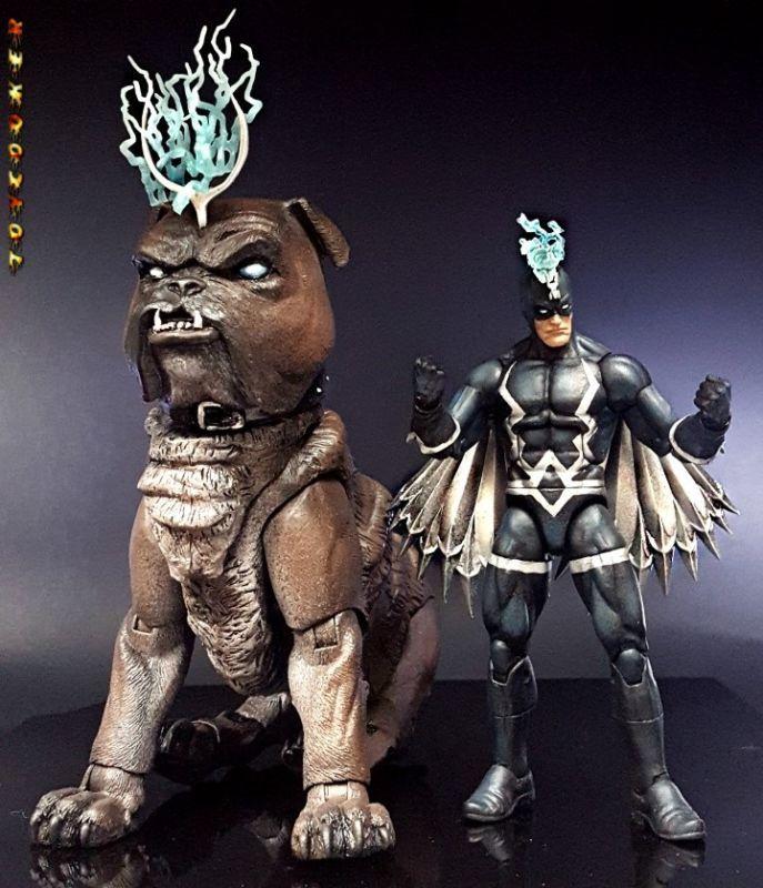 Lockjaw (Marvel Legends) Custom Action Figure by Toycooker Base figure: MOTUC Battle Lion