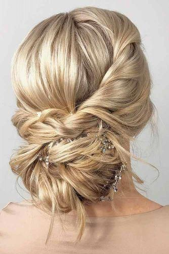 easy hairstyles buns with curls for a dance #Easyhairstyles