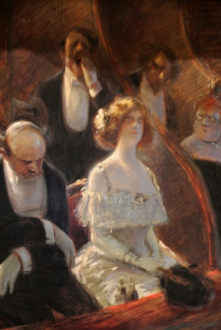 Albert Guillaume (1873-1942). Musique savante, vers 1900.   Art - The French…