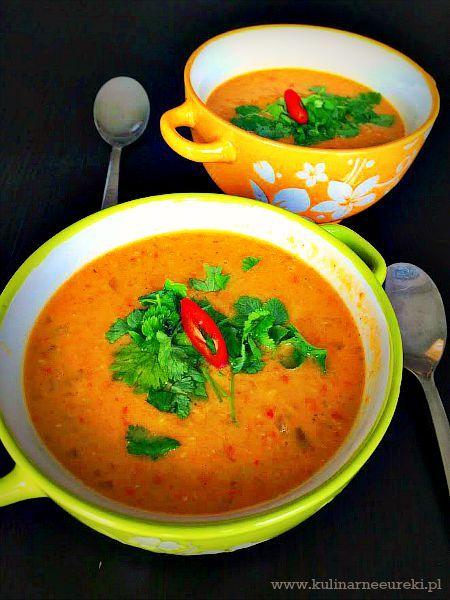 Tajska zupa z soczewica