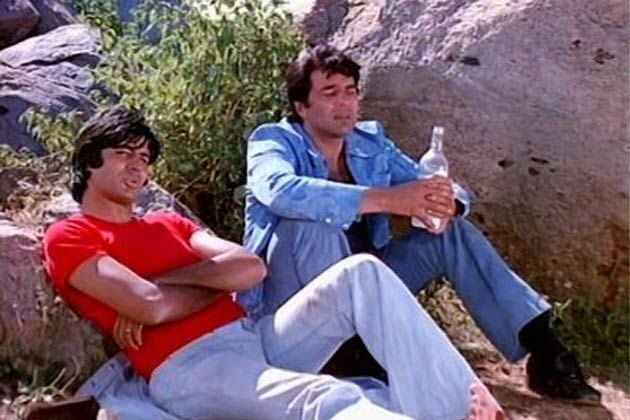 Sholay (1975): Ramesh Sippy's film had everything. Action, romance, drama, comedy- all in right proportion and perhaps that's what makes 'Sholay' a complete film. No matter how small a character was, each stood out and became a cult in this Hindi film.