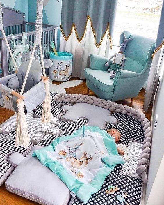 Kinderzimmer; Haus Dekoration; Kleiner Raum; Wandgemälde; Home Design; Li …