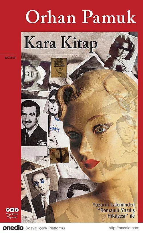 """""""Kara Kitap"""", (1990) Orhan Pamuk"""
