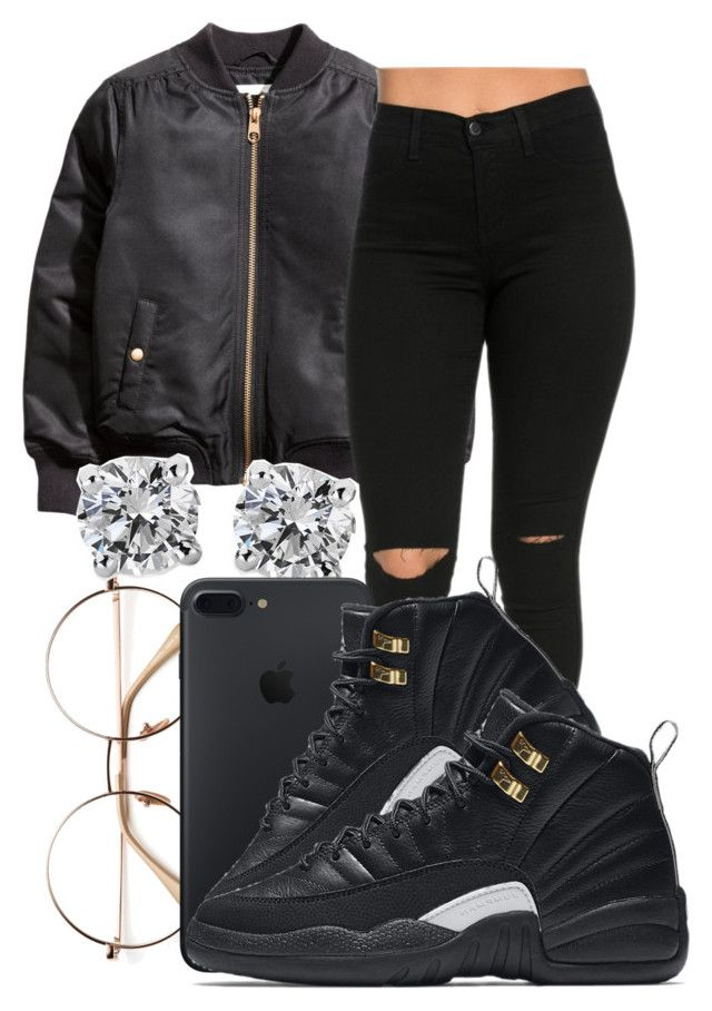""""""""""" by honey-cocaine1972 ❤ liked on Polyvore featuring Blue Nile and NIKE"""