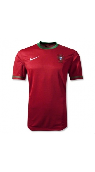 Wholesale new and best 2012 Euro Cup  Portugal Home the soccer shop,futbol t shirt,soccer football shirt,buy soccer t-shirts 12 13 from china