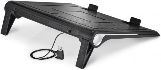 """Подставка для ноутбука 17"""" Deepcool N180 FS 380x296x46mm 1xUSB 922g 20dB черный"""