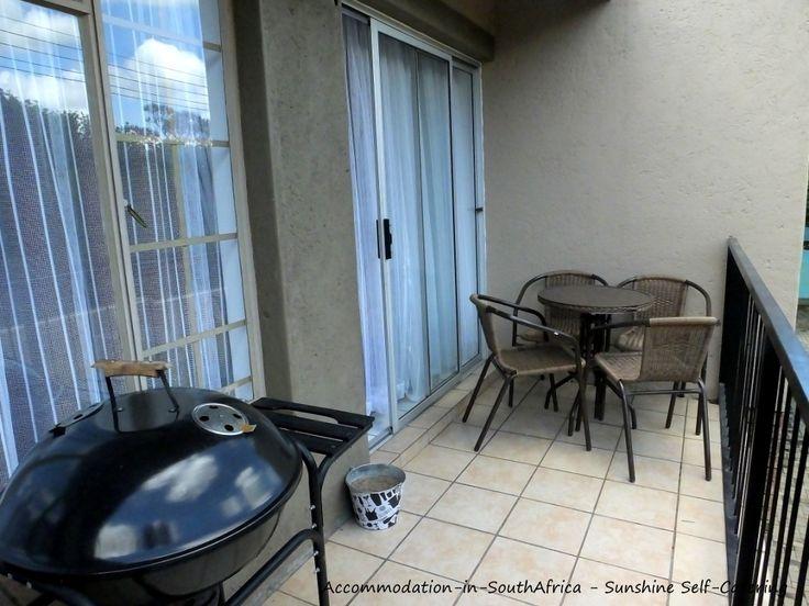 Braai facilities at Sunshine Self Catering. http://www.accommodation-in-southafrica.co.za/Mpumalanga/Nelspruit/SunshineSelfCatering.aspx