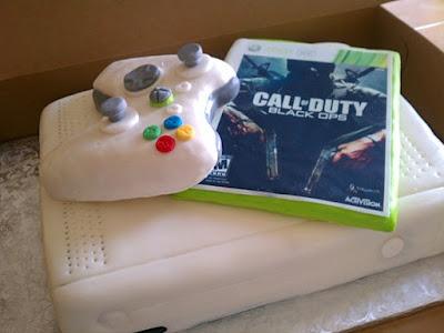 Xbox Call of Duty cake