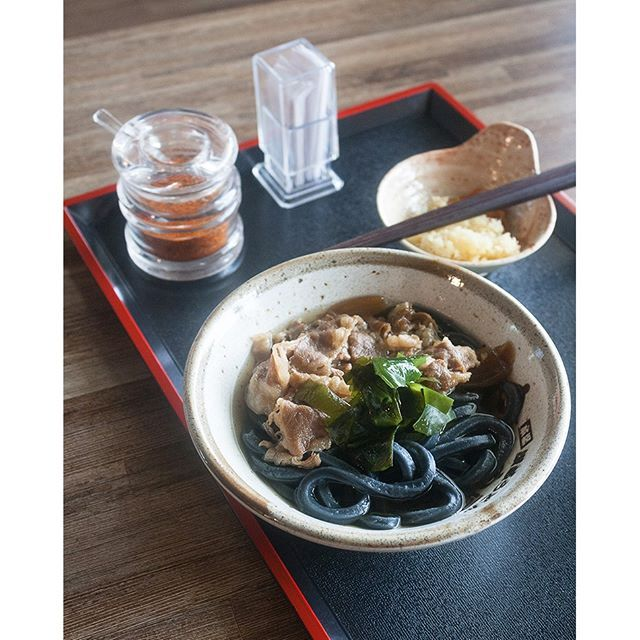 Have you tried this black udon from @tamoyaindonesia?