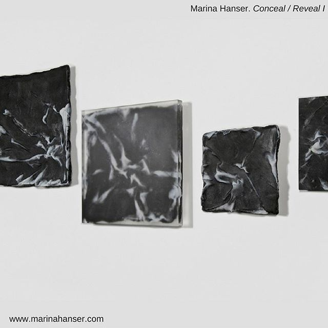 Marina talks of this work 'Conceal/reveal ' A central piece partially concealed…