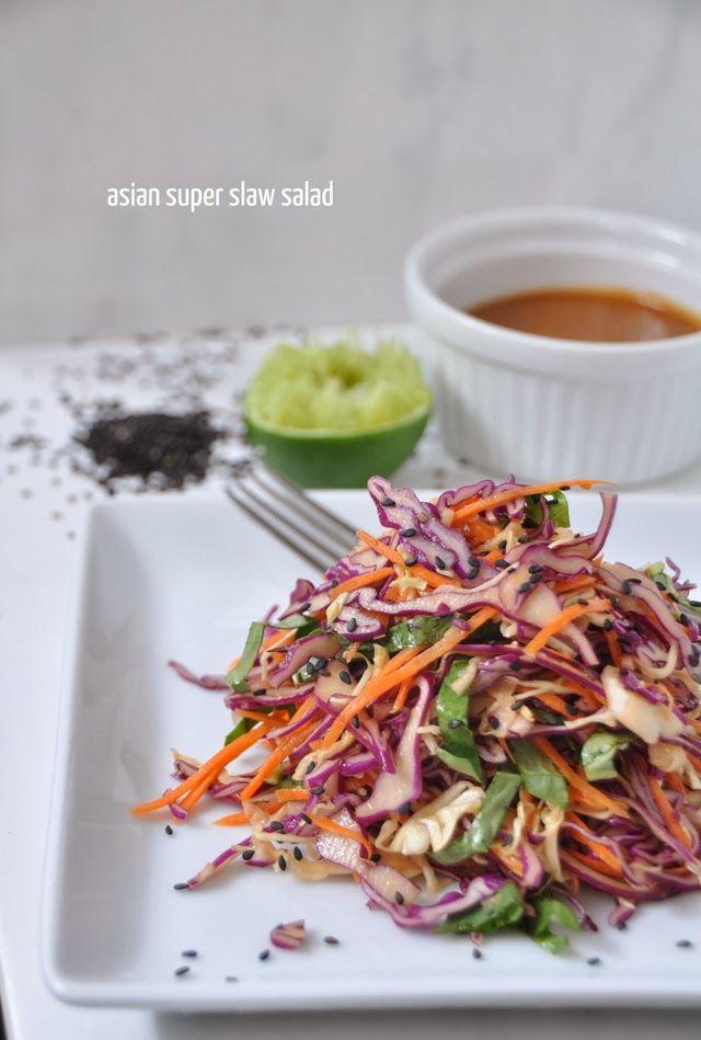 Best 25 asian slaw salad ideas on pinterest asian ramen noodle food asian super slaw salad forumfinder Choice Image