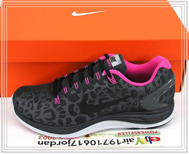 última línea barata Venta bajo costo Wmns Nike Lunarglide 5 V Escudo De Color Rosa Negro Las Uñas De Leopardo Roja comprar mejor sitios web CsL9pI