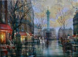 art market place bastille paris