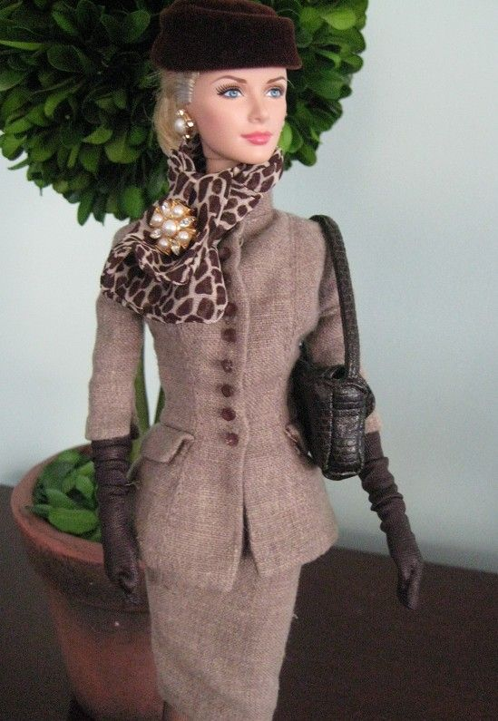 Grace Kelly the Romance Barbie re-dressed in Boulevard Barbie fashion by Lacey705 | Barbie Collector