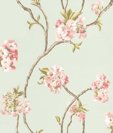 Orchard Blossom wallpaper by Nina Campbell