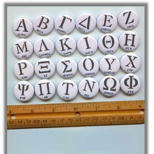 Greek Letters Coexist