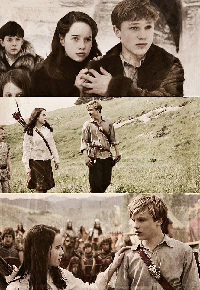 The Chronicles of Narnia, I love their brother sister relationship. You know they will always be there for each other