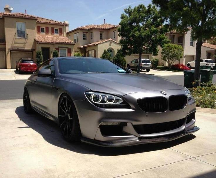 BMW F12 6er Coupé Matte Grey Devil Cars Pinterest