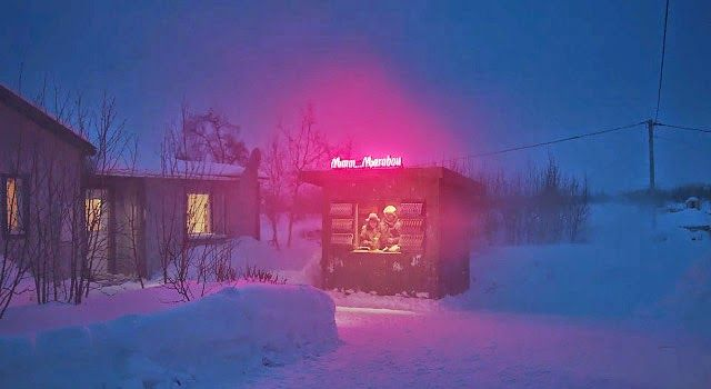 Sweden´s Northernmost Candy Kiosk