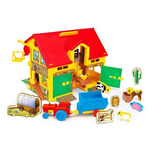 Wader: Play farm játékszett - . kép