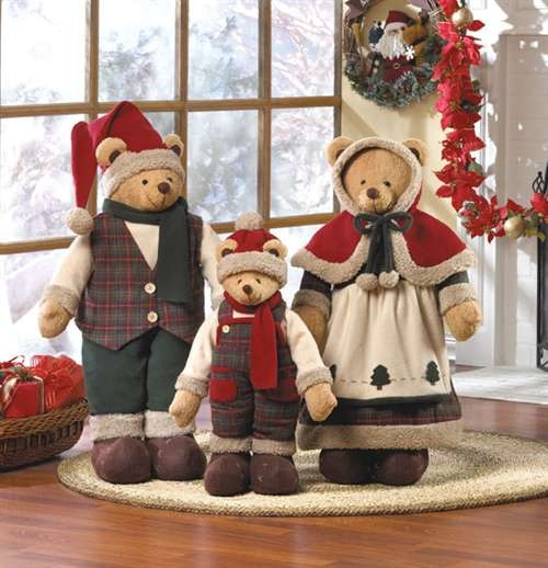 Christmas bear decor  #BearHoliday
