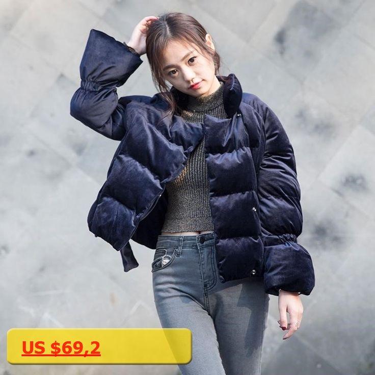 Winter Women Jacket Women 2017 Fashion Velvet Parkas Femme Outerwear Warm Coat