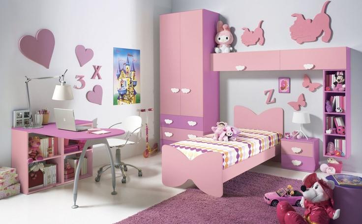 Camera ROSA #camerette #design #bedroom #furnishing