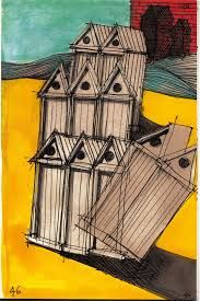 Image result for aldo rossi drawing