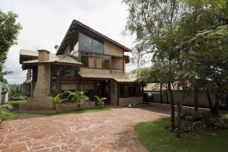 Projetos de casas de campo modernas tropical beach - Casas rusticas modernas fotos ...