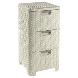 Buy Curver My Style 3 Drawer Storage Unit - Cream from our Crates & Boxes range - Tesco.com