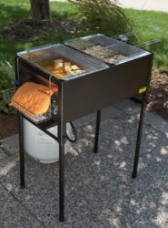 3-Basket Outdoor Propane Deep Fryer for $170 free shipping #LavaHot http://www.lavahotdeals.com/us/cheap/3-basket-outdoor-propane-deep-fryer-170-free/180992?utm_source=pinterest&utm_medium=rss&utm_campaign=at_lavahotdealsus