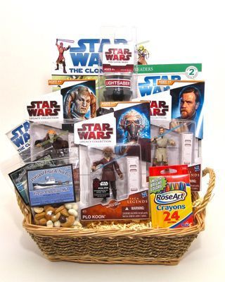 Star Wars Kids Gift Basket- Great gift for a young star wars fan!