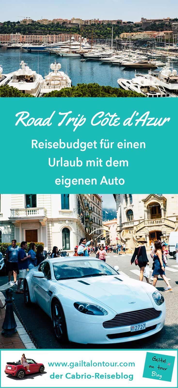 Reisekosten Urlaub mit dem eigenen Auto an die #Côte d'Azur. So teuer ist eine #Reise mit dem #Auto wirklich