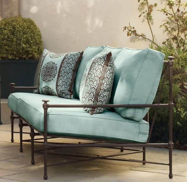Restoration Hardware | Restoration Hardware Outdoor Furniture Cushion Covers