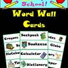 Word Walls are a wonderful way to increase student's vocabulary on any subject matter. This resource includes 36 school terms with illustrations fo...