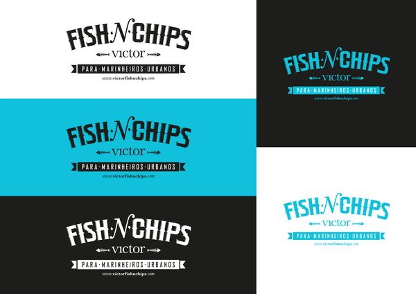 logo / VICTOR FISH'N'CHIPS