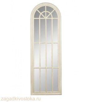 зеркало настенное Milana белое