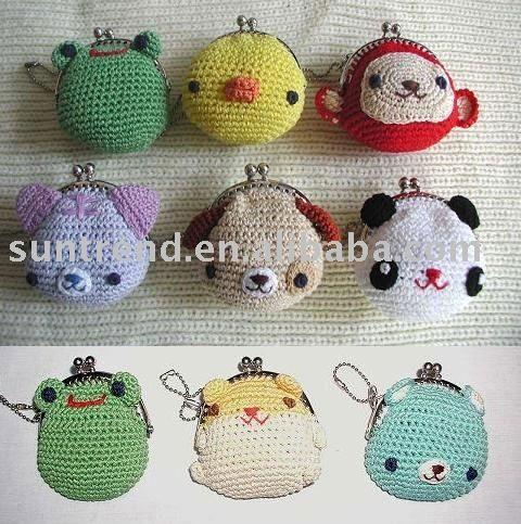 Coin purse crochet - Learn how to crochet