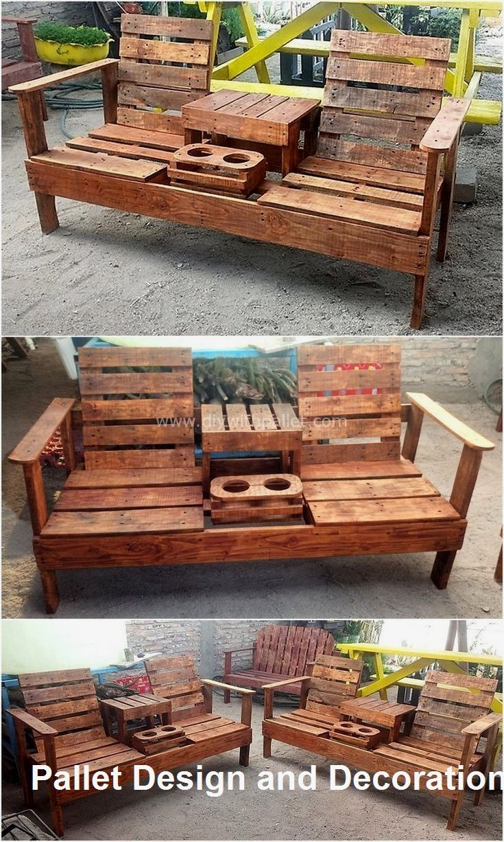 Easy And Great Diy Pallet Ideas Anyone Can Do 1 In 2020 Diy Wood Projects Pallet Patio Furniture Diy Pallet Furniture