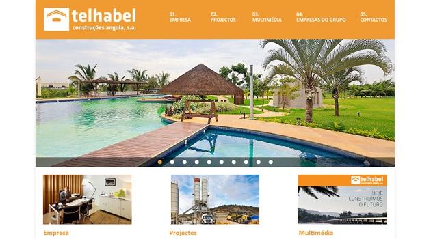 Telhabel Angola > Website
