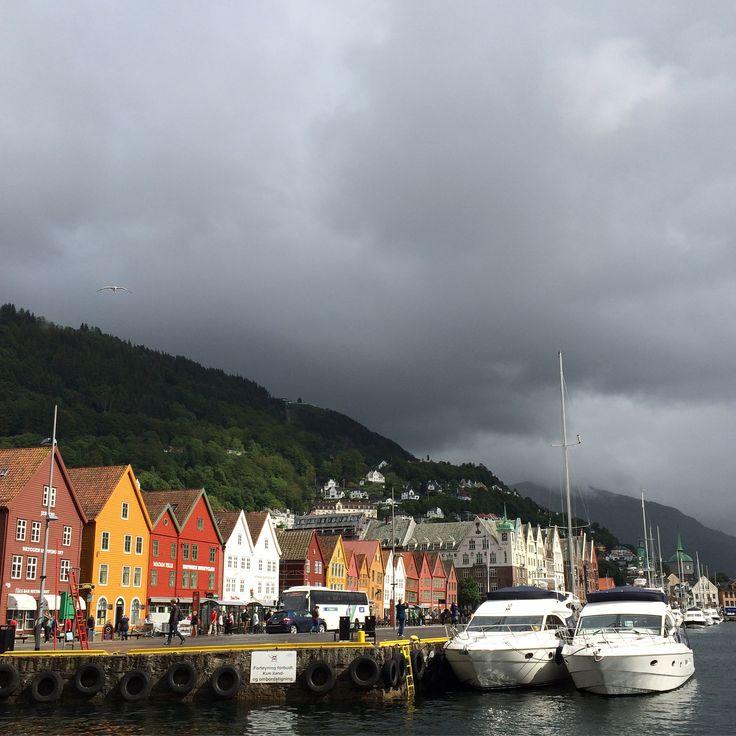 Bryggen i Bergen, Norway