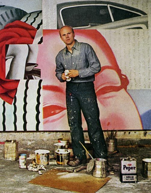 James Rosenquist...POP art original and marvel and one of the reasons I do what I do, the way I do it...