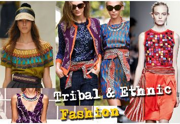 In the recent years ethnic trends and details are all over the fashion runways as people more or less want to return to their roots.