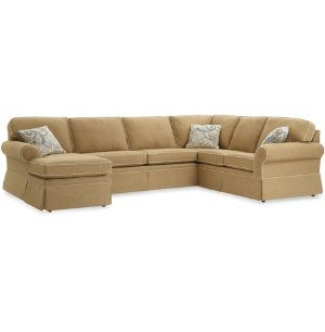 Pearl 3 Piece Sectional Sectionals Living Rooms